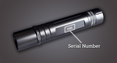 Finding the Serial Number - Product Registration
